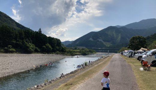 キャンプinn海山 奇跡の清流 銚子川で遊びつくす