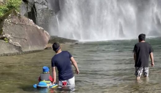 大自然と大迫力の滝に癒される 飛雪の滝キャンプ場